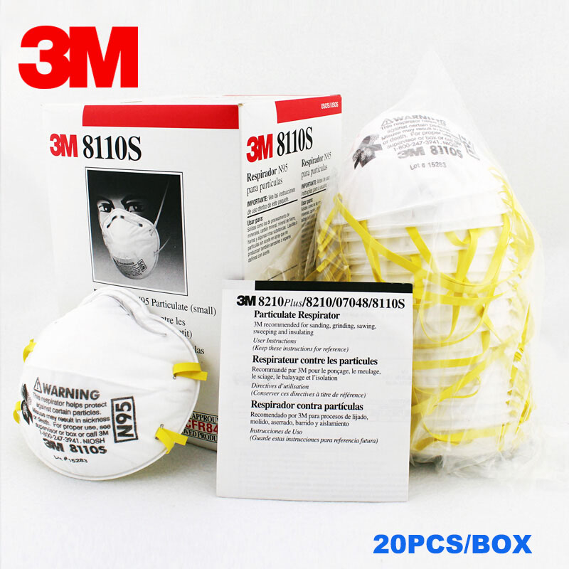 Particles Dust Children 10 5 N95 20pcs Pm2 Anti 3m Kids Mask 8110s