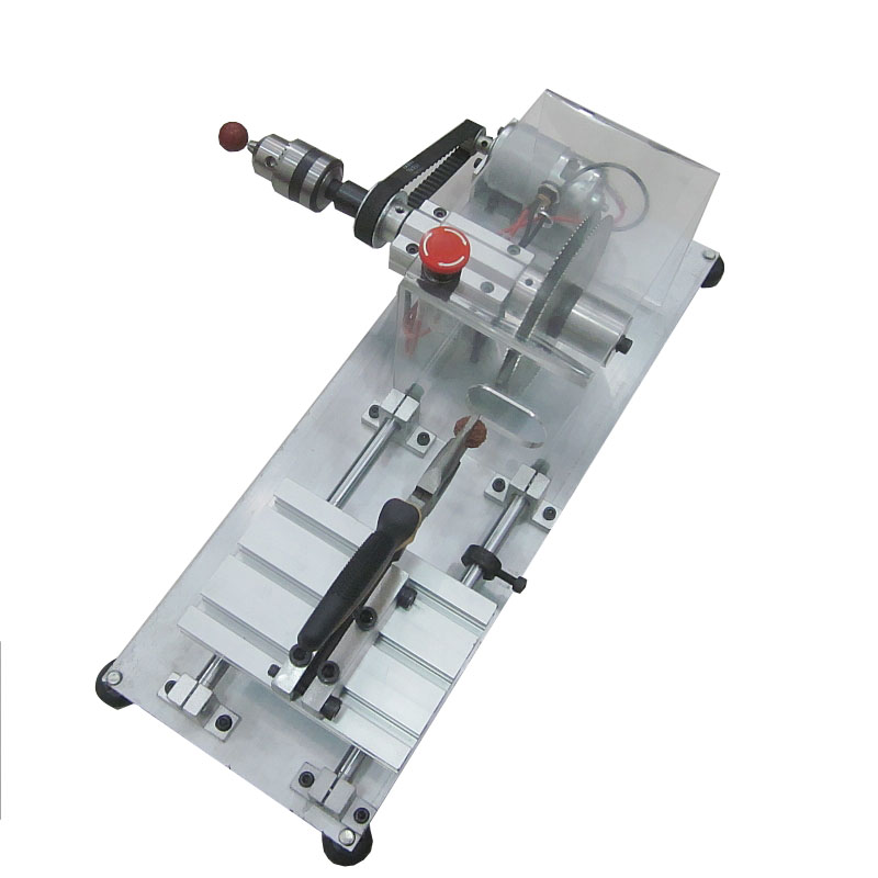King Kong Bodhi Cutting Machine Beads Mini Lathe Buddha Beads Polishing Machine Double Saw Blade adjustable double bearing live revolving centre diy for mini lathe machine