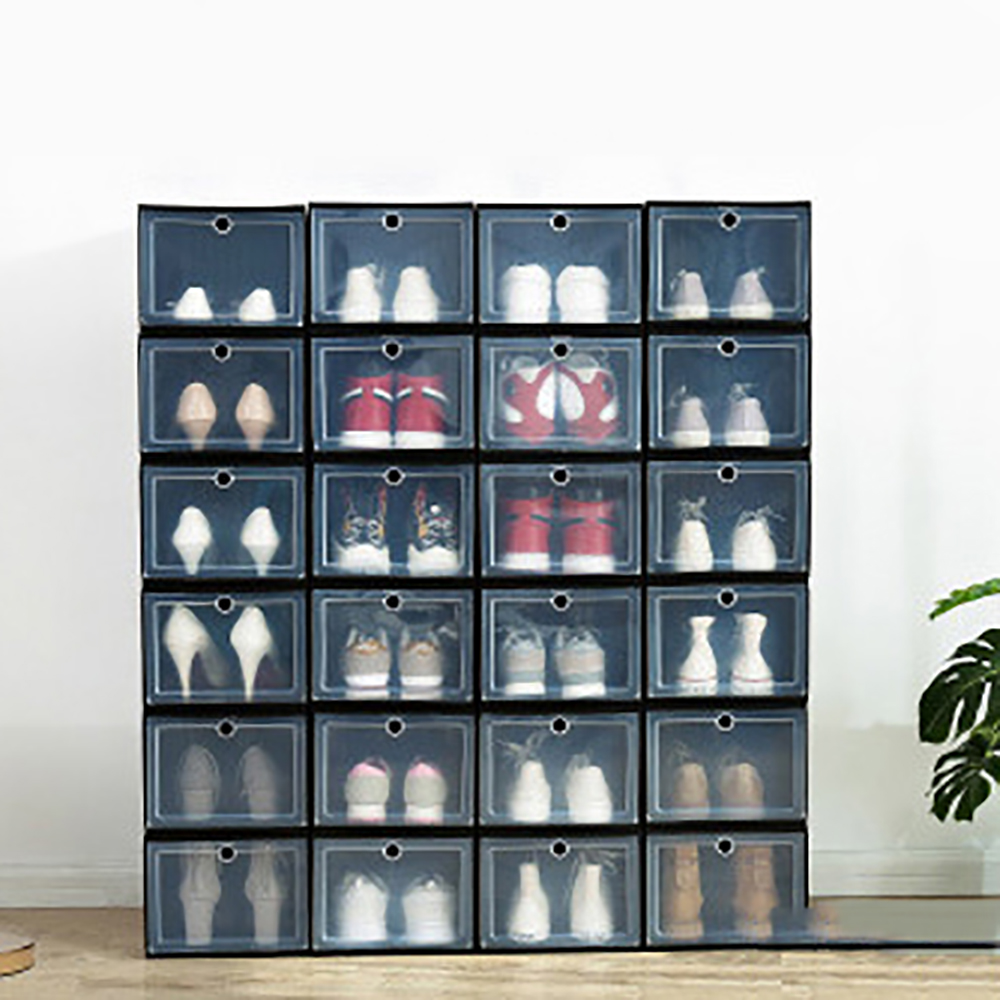 Drawer Type Shoe Box Black Factory Sale, UP TO 20 OFF