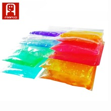 2bags 30g crystal mud 12 Colors Magic Plasticine Fimo Polymer Clay Air Dry Play dough Children