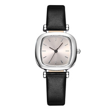 Ladies Watches PU Leather Band Small Square Watch Simple Style Light Casual Women's Watch Reloj Mujer Clock Relogio Feminino New 2018 simple women s watches ladies cactus watch fashion pu leather band relogio cacto relojes mujer women s clock girl gift