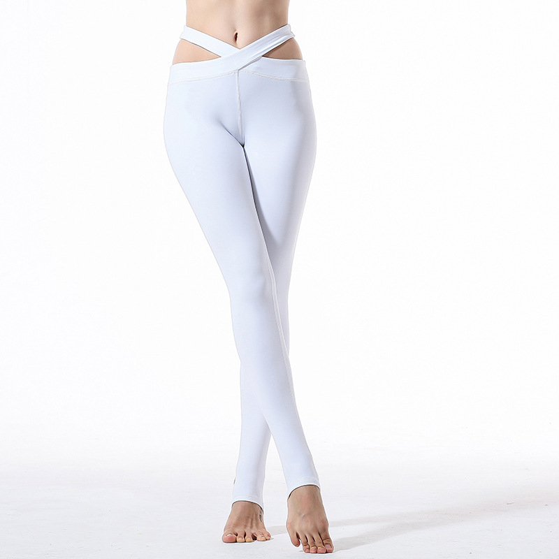 Yoga Serve Major Yoga Pants Woman Crossing Trousers Run Motion Self-cultivation Thin Bodybuilding Foot Pedal
