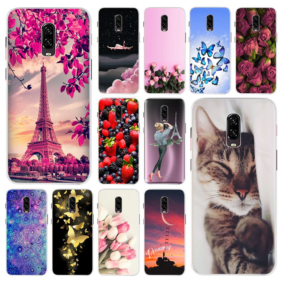 For <font><b>Oneplus</b></font> 6T Case One Plus 6T Silicone Shockproof Phone Cases For <font><b>Oneplus</b></font> 6T One Plus 6 T <font><b>A6013</b></font> Oneplus6T Soft TPU Cover Coque image
