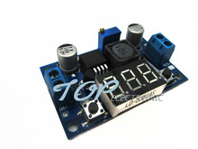 1PCS DC-DC Buck Step Down Converter Module LM2596 Voltage Regulator+Led Voltmeter