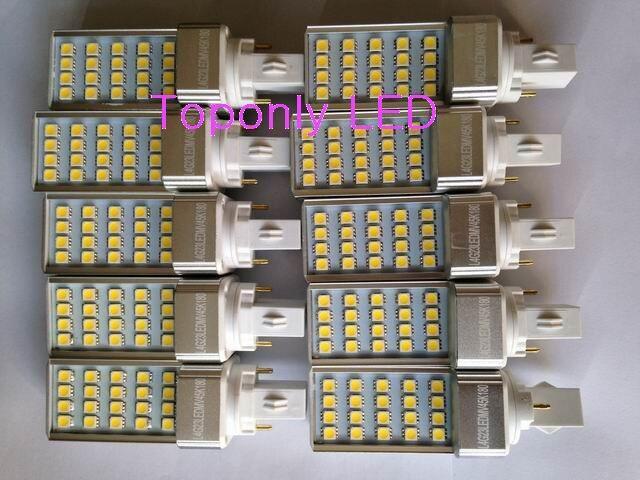 2018 High Quality 4W G23 Socket Rotated Replacement Tube Bulb European Night Light LED PL Lamp 4000-4500K White Color 100pcs/lot