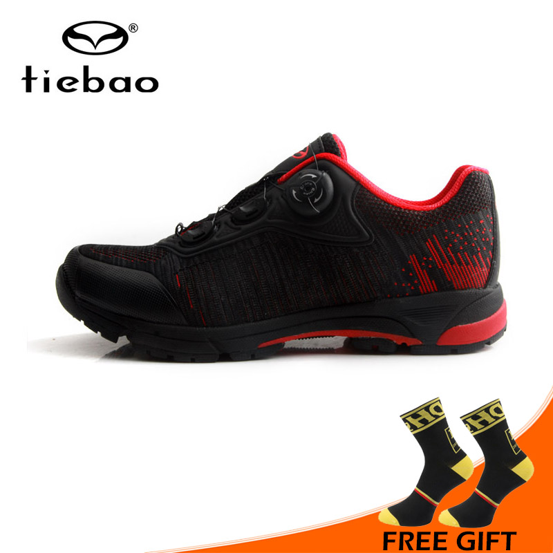 Tiebao Cycling Shoes Bicycle Professional Athletic Shoes Self Locking Shoes Men MTB Leisure Bike Shoes zapatillas