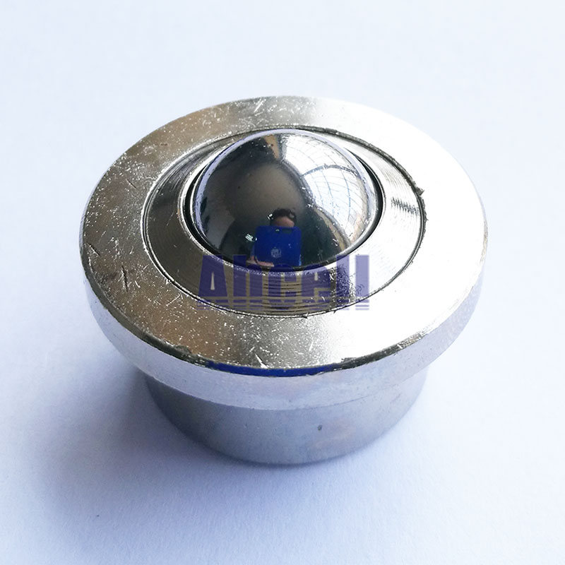 SP-12-SS ball-transfer-units SUS 304 full ball caster stainless steel aircraft cargo handling floor rollers Ball transfer unit
