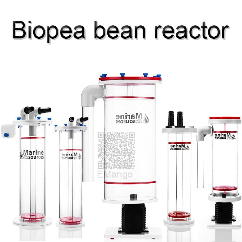 BRP4.3 BPR5.5 BPR2.2  Marine Source Biopea Bean Reactor  Bio Pellet Reactors Chamber Total Capacity: 4.3L NP Bean Boiling Machin