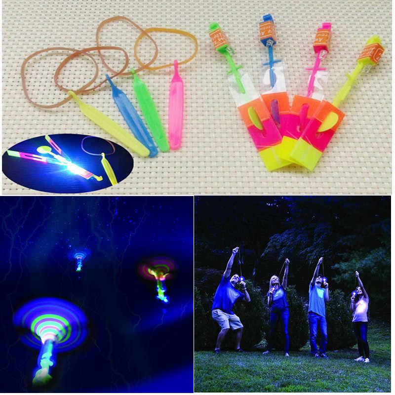 Люминесцентные игрушки 4 шт. светодиодный мерцающий свет стрекоза свечение для вечерние забавная игрушка в подарок Z0301
