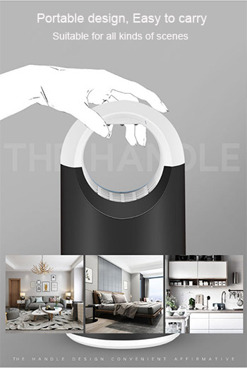 New Photocatalyst Mosquito Killer Lamp Household Without Radiation Mosquito Repellent Lamp LED Portable Silent Mosquito Trap in Mosquito Killer Lamps from Lights Lighting