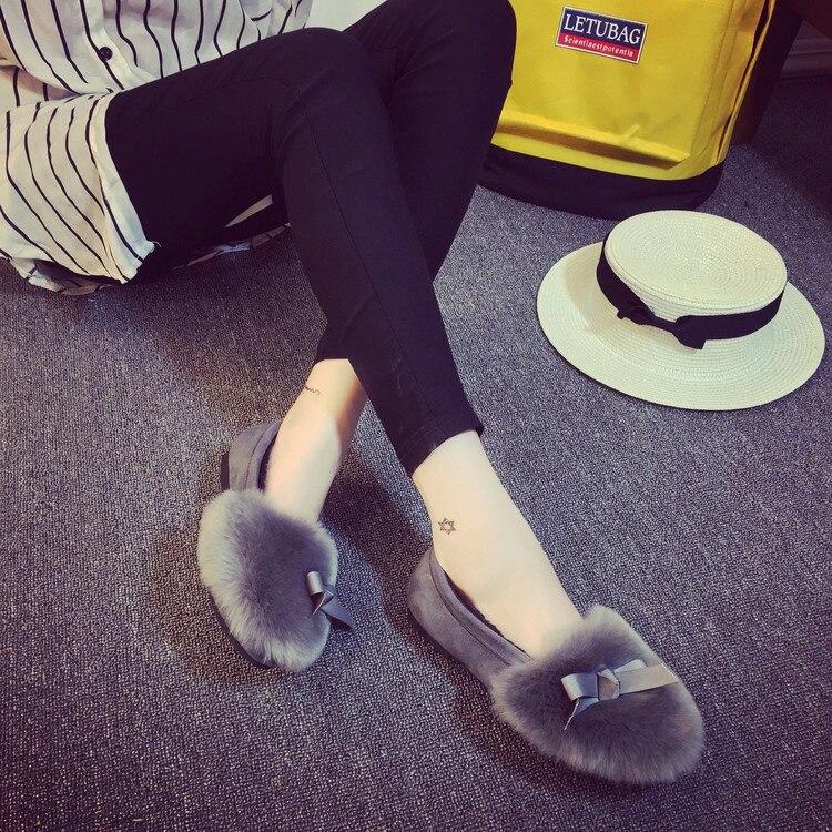 2016 font b Women b font Winter Shoes Fashion font b Women s b font Flats