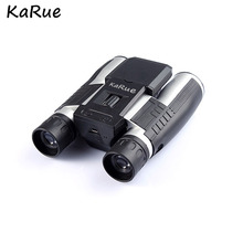 "KaRue 2018 Profissional 12×32 Binocular Telescope Câmera Digital CMOS de 5MP 2.0 ""Tft HD 1080 P Telescópio câmera"