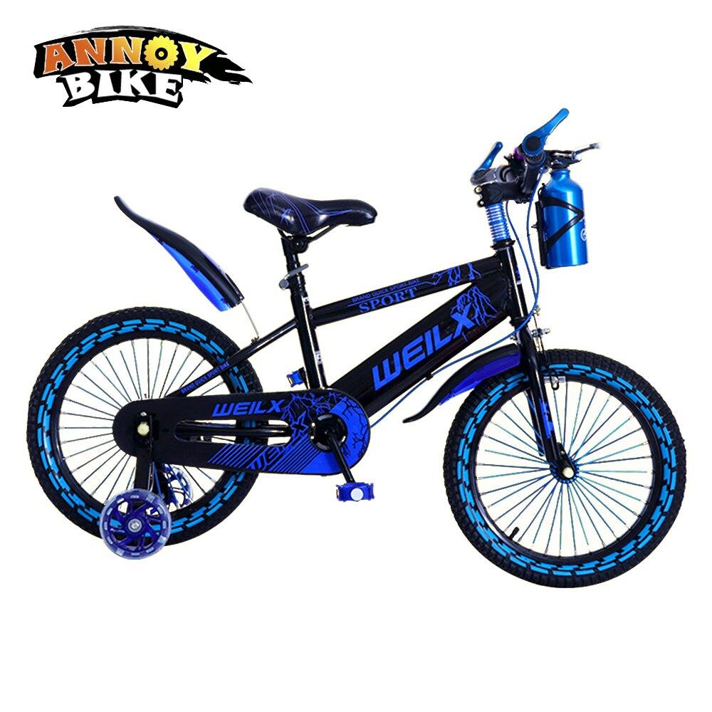 12''14''16 ''enfants vélo enfants vélo pour 2-8 ans garçon Grils Ride enfants vélo avec pédale jouets enfants vélo coloré adulte - 2