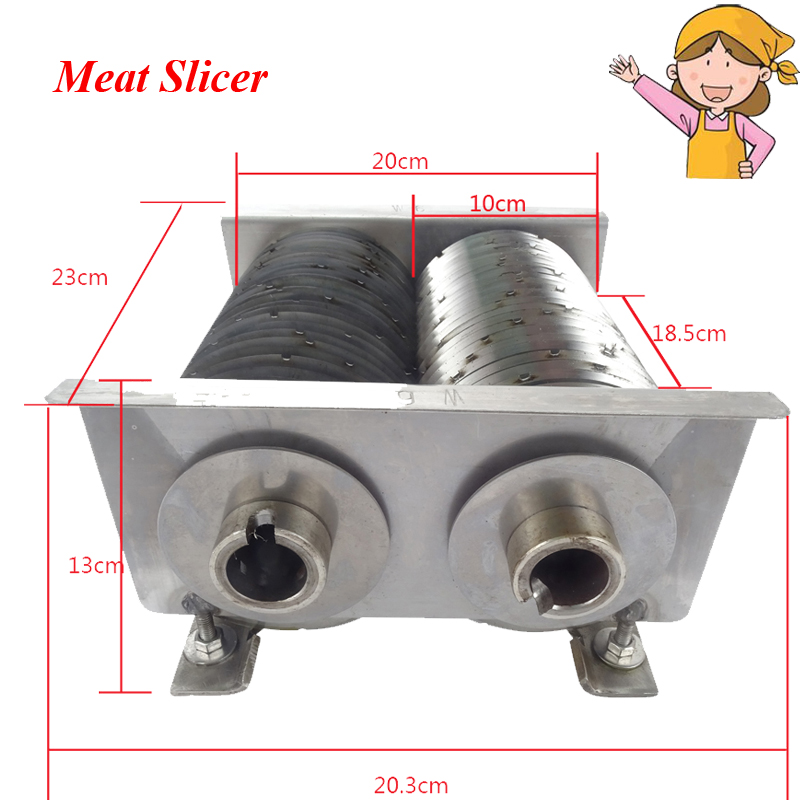 New Meat Cutting Machine Food Processor with Blade Knife for Commercial or Home Use QW blades cutting machine blade tape double sided adhesive circular knife cutting blade