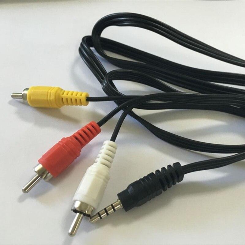 3.5 мм AV кабель Джек 3 RCA мужчинами переходник для ТВ Box аудио конвертер видео AV кабель cb003s