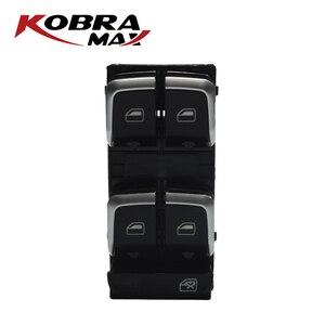 Image 3 - KobraMax Electric Power Finestra di Controllo Interruttore Pulsante 8U0959851/8UD959851A Adatto Per Audi A4 2007 2014 Accessori Auto