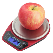 1000g * 0.1g Portable Digital Scale LED Display Electronic Scales Postal Food Measuring Weight Kitchen Scale socona 1000g