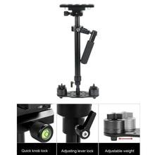 Ajustable Gradienter S60 Mano Estabilizador Steadicam Steadycam Photo Studio Accesorios para Videocámara DSLR Estabilizador