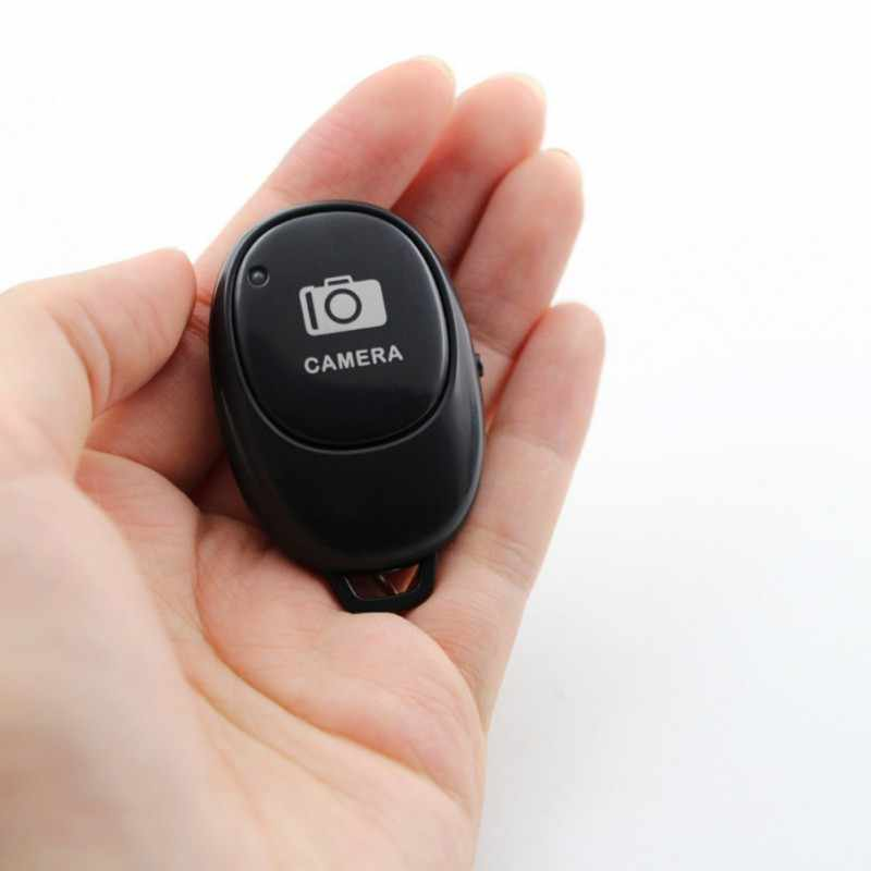 Portabel Nirkabel Bluetooth Self-Timer Remote Control Rilis Ponsel Selfie Tombol untuk Samsung Iphone Xiaomi Huawei
