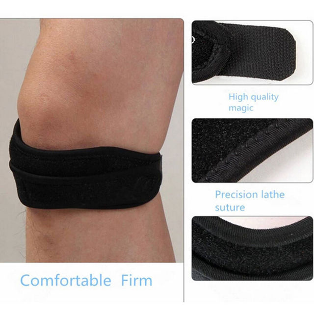Protector Strap 1PC Adjustable Sports Knee Patella Tendon Support ...