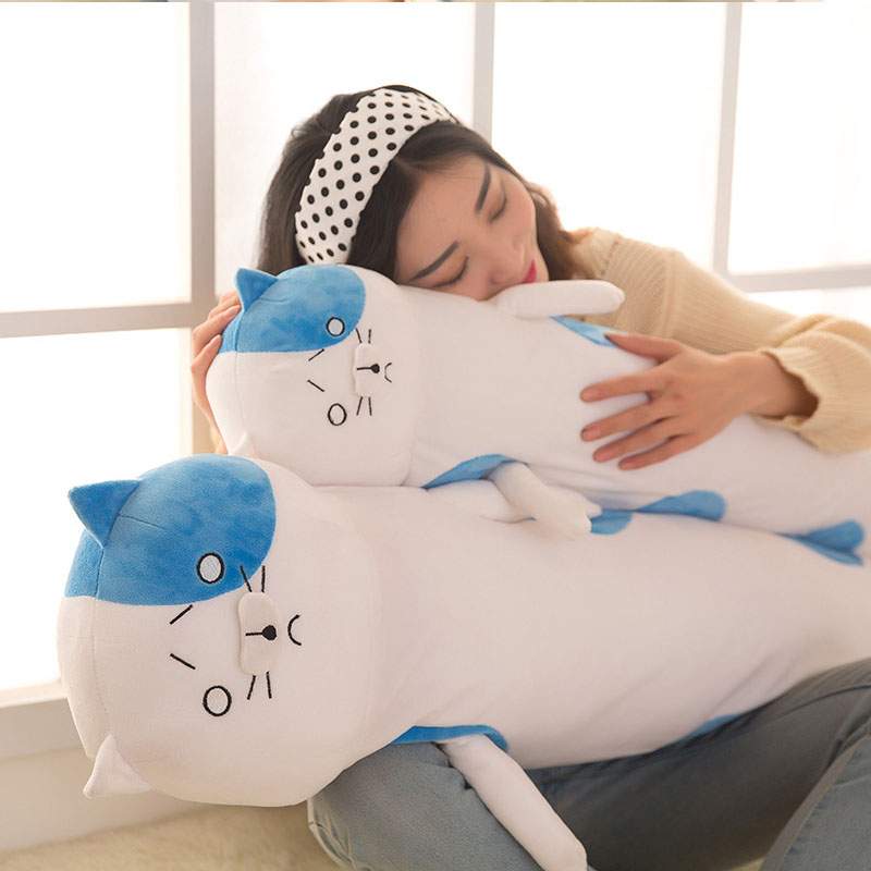 Coshome Himouto Umaru Chan Bigcat Pillow Plush Toy Umaru Doma Cosplay Props Cushions Anime Accessories Children Christmas Gift (7)