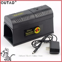 OUTDA Electric High Voltage Mouse Rat Trap Mouse Killer Electronic Rodent Mouse Zapper Electrocute Mana Kiore Home Use