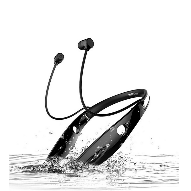 Zealot  Bluetooth Headphones wireless earphone Bluetooth Eeabuds Stereo Headset In-Ear HandsFree Sports Earphones With Mic bluetooth headset stereo sound wireless bluetooth earphone bass sport in ear headphones headband handsfree for iphone pc