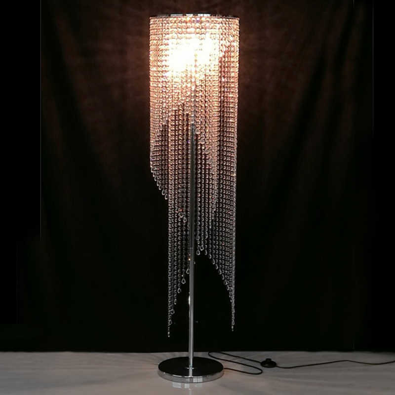 Crystal Floor Lamps For Living Room