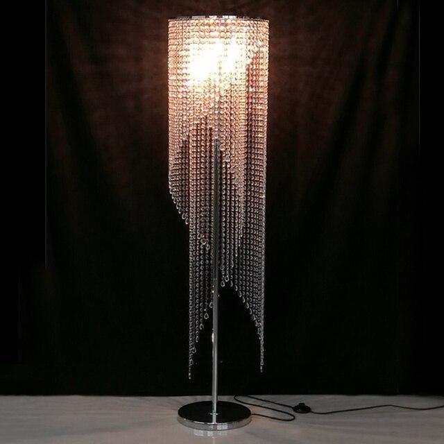 recessed led floor lights crystal floor lamp modern floor ...
