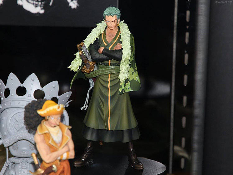 One Piece Zoro Figure SHF PVC 170mm Action Figures S.H.Figuarts Anime Toys Roronoa Model Onepiece-Action-Figures