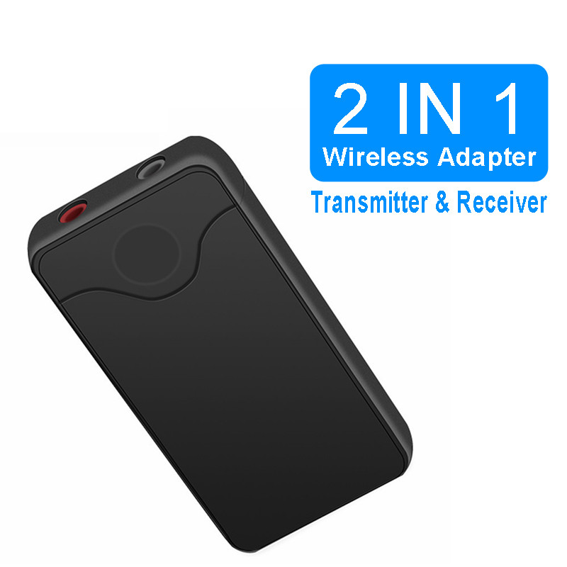 VIKEFON Bluetooth Transmitter Receiver 4.2 2 In 1 A2DP 3.5mm Audio Stereo Music Wireless Receiver Adapter For TV Home Speaker h 266 bluetooth music receiver a2dp v1 2 wireless receiver adapter usb with nfc function apple pay for iphone 6 plus black