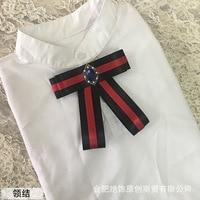 Corea Del Lazo Chalaza Viento Escuela europea Hit Mano Cinta Evitar Golpear Camisa del Uniforme Escolar Vestido Lleno Arco Corbata Cuerda del Plomo