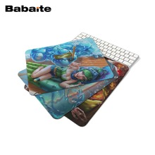 Babaite Mouse pad league of legends zed wallpaper gaming muismat Locking Edge Mouse Mousepad for Game Player PC Laptop Mouse