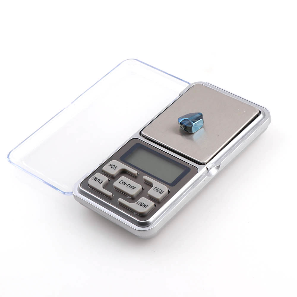 500g/0.1g Mini Scales Electronic Pocket Scale  Jewelry Balance Laboratory Scales No Battery