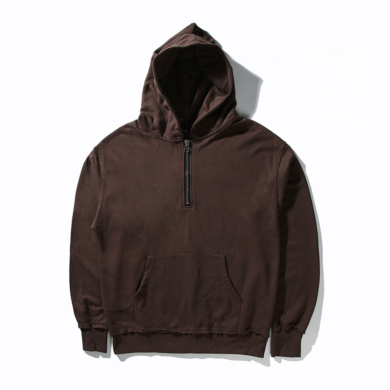Mens Brown Pullover Hoodie - Hardon Clothes