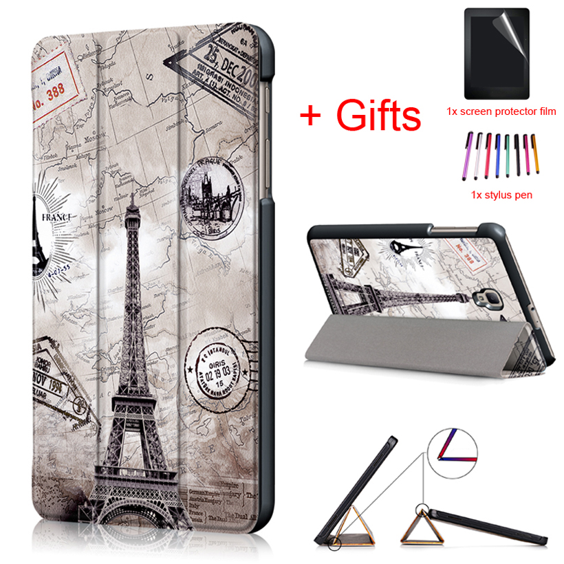 Slim Magnetic Folding Case Cover For Samsung Galaxy Tab A 8.0 T380 T385 SM-T380 SM-T385 2017 New 8