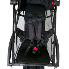 Baby Stroller Summer Mesh Cushion Seat Brethable Cloth შესაფერისი Babyyoya Stroller Accessories