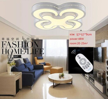 Factory direct sale HOT Modern led ceiling lights bedroom lamps 2/3/4heads for livingroom kitchen lamp balcony light
