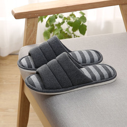 HEE GRAND 2019 Men House Slippers Indoors Slip on Light Soft Winter Warm Men's Home Slippers Causal Shoes Size 42-45 XFM101