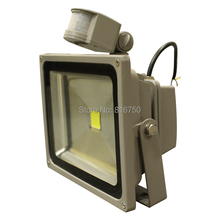 Outdoor lighting LED Flood Light 10W 20W 30W 50W 100W Wall Lamps Floodlight With PIR Motion Sensor Detector AC110V led spotlight