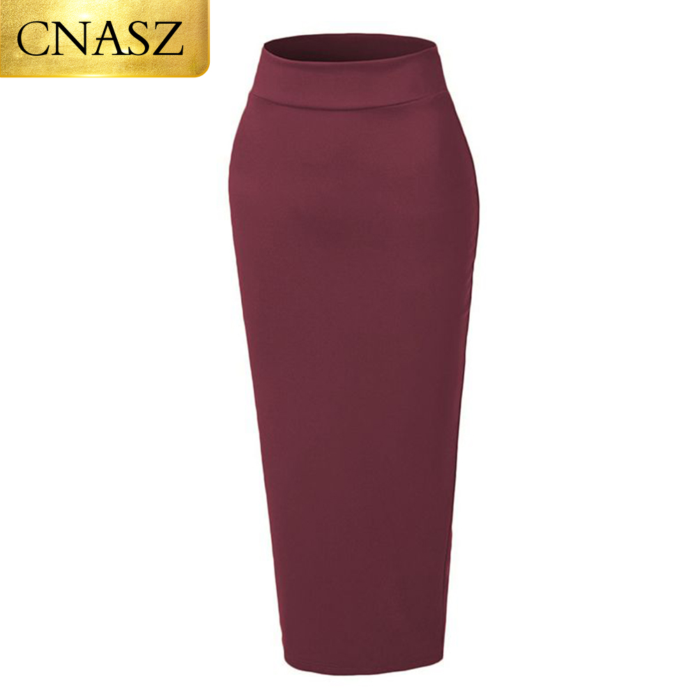 Ladies Designer Knitted Pencil Tied Skirts For Muslim Women Girls Wear Sexy Tight Skirt Long