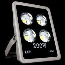 1 шт. 200 Вт COB из светодиодов потока лампы водонепроницаемый прожектор из светодиодов отражатель открытый бра сада-стрит IP65