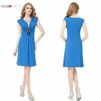 [Wyprzedaż] Koktajl Sukienka Kiedykolwiek Dość HE03280 Nowa Moda Exquisite Dekolt Ozdobnych Ruffles Plus Size Letnie Sukienki