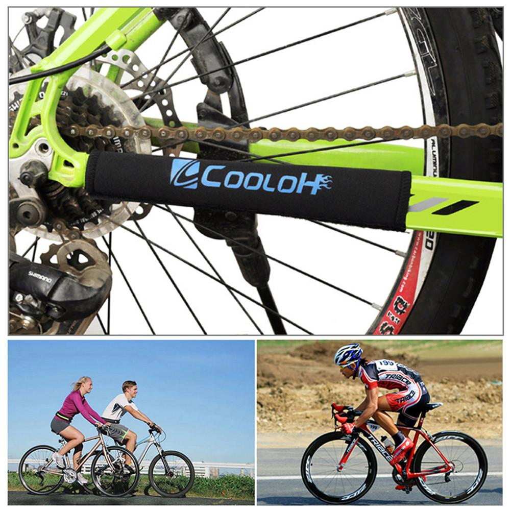 Bike Bicycle Cycling Road Care Chain Stay Posted Frame Protector Guard Cover