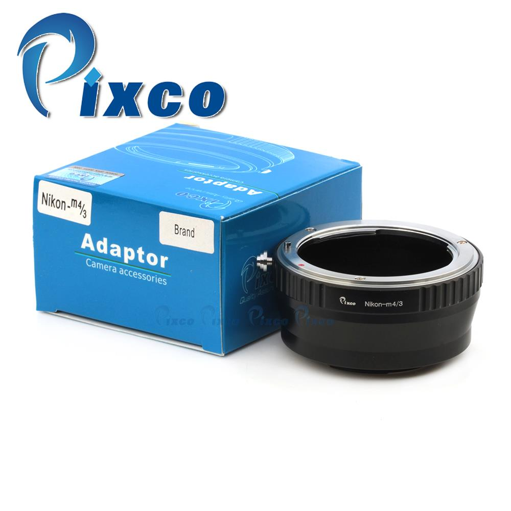 Pixco Lens Adapter Suit For Decrease Stray Light Nikon to Micro43 M4/3 GF6 GH3 G5 GF5 GX1 GF3  E-PL5 E-PM2 E-P3 E-PL3 Camera
