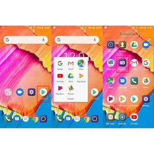 Image 4 - Оригинальный смартфон 18:9 S17, Android 8,1, четырёхъядерный, экран 5,5 дюйма, сканер отпечатков пальцев и лица, 2 Гб ОЗУ 16 Гб ПЗУ, мобильный телефон