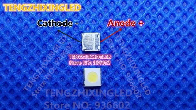 WOOREE LED LCD TV Backlight LED LED Backlight 1.85W 3V 3535 สีขาวแอ็พพลิเคชันทีวี WM35E1F YR07 eB