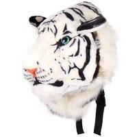 SNNY 새로운 남녀 동물 스타일의 살아있는 3D 호랑이 머리