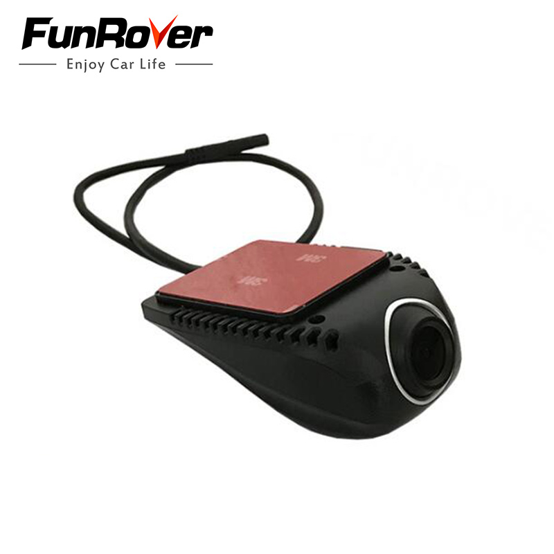 цена Funrover USB Port Car Radio Head unit Front DVR Record Voice Camera Special latest only For Funrover NEW Android System model