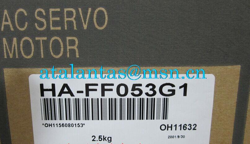 New&original MR-J2 series HA-FF servo motor HA-FF053G1 with reducer